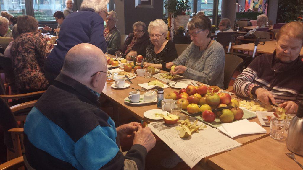 tafel van de smaakherinnering - de appel