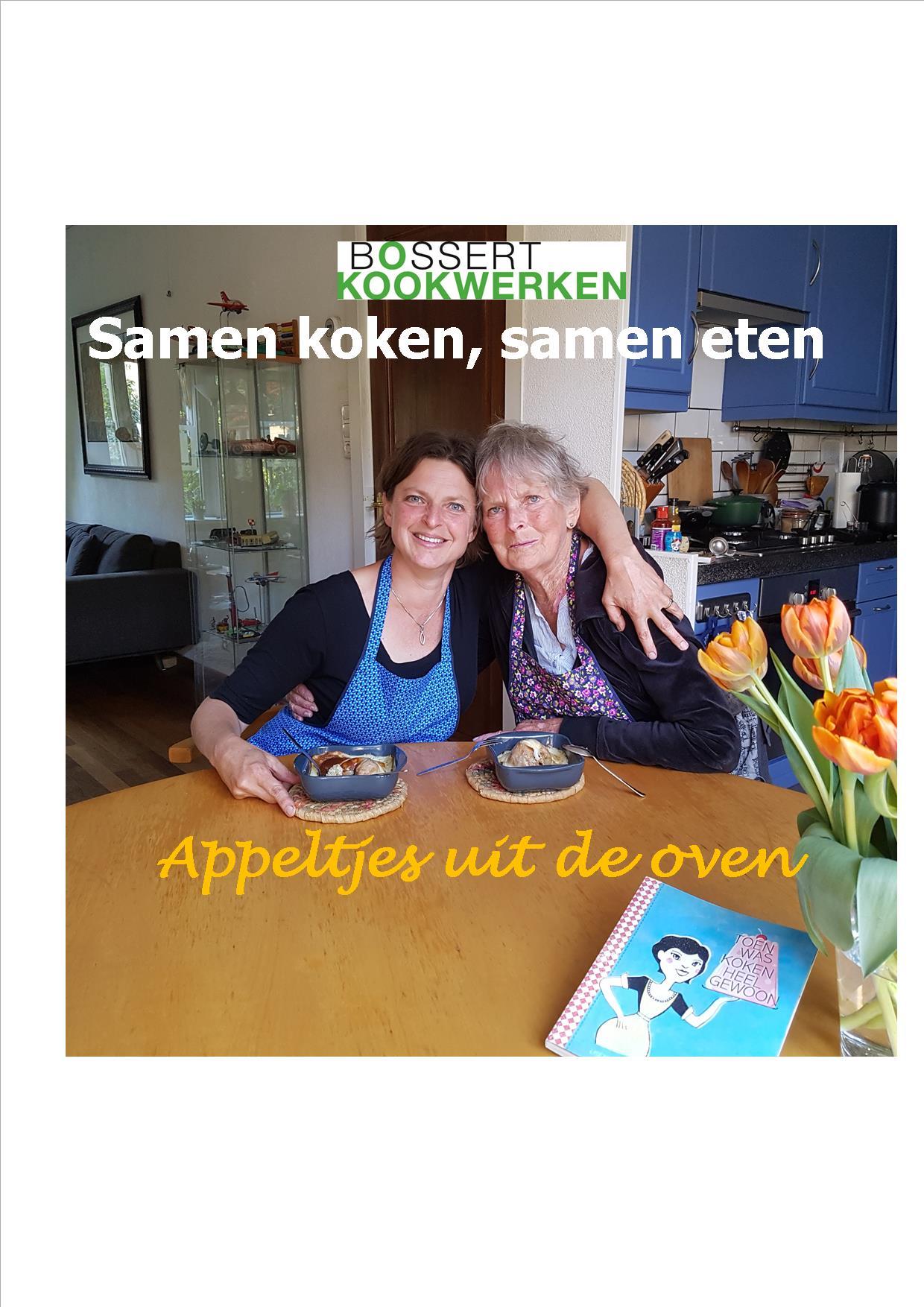samen koken samen eten - appeltjes uit de oven